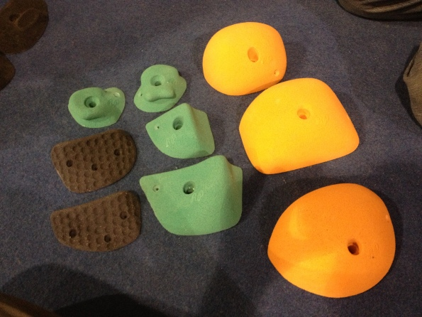 Redpoint Climbing Holds