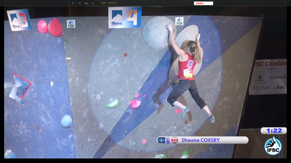 Shauna at the top!